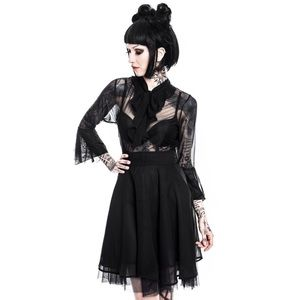Killstar decay nu mourning dress